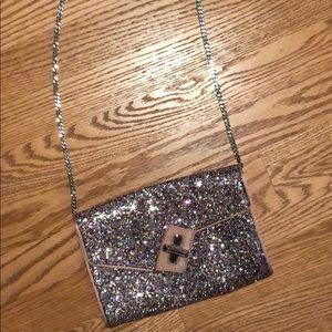 Sparkly & Fun Mini Glitter Clutch